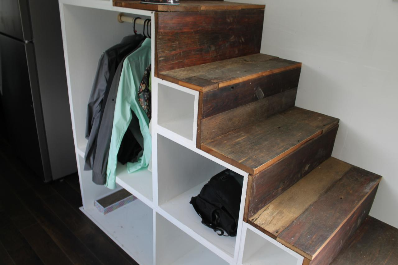 stairs cabinet