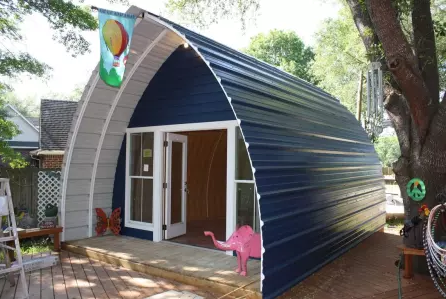 Budget Steel Arched Cabins