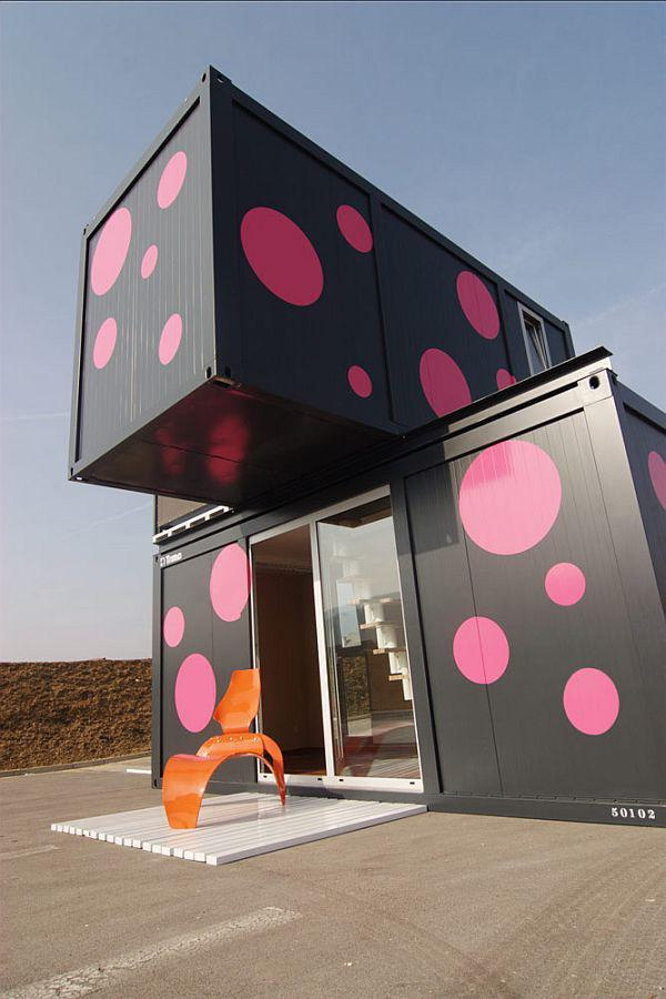cute container house