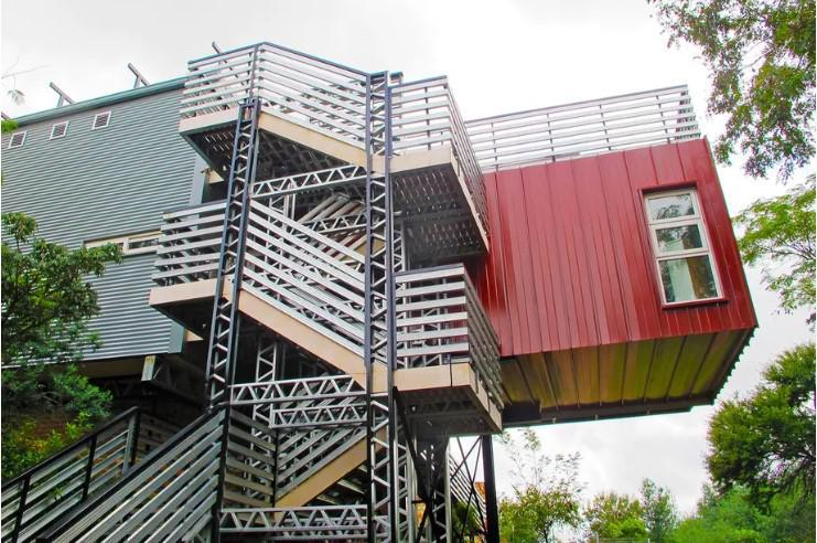 shipping container house in south africa