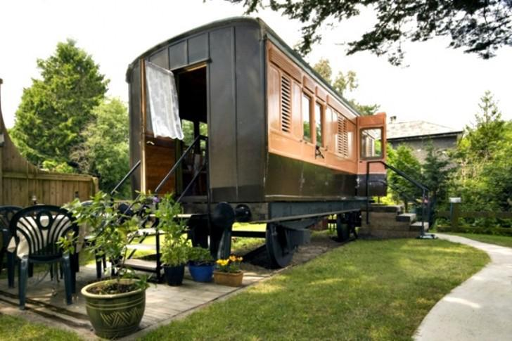 Caboose For Sale Yes You Can Live In A Refurbished Train Wagon