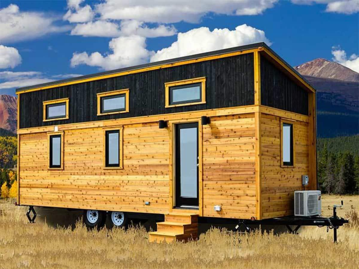 Tiny Home Designs: 26' Tumbleweed Tiny House With Shed-Style Roof