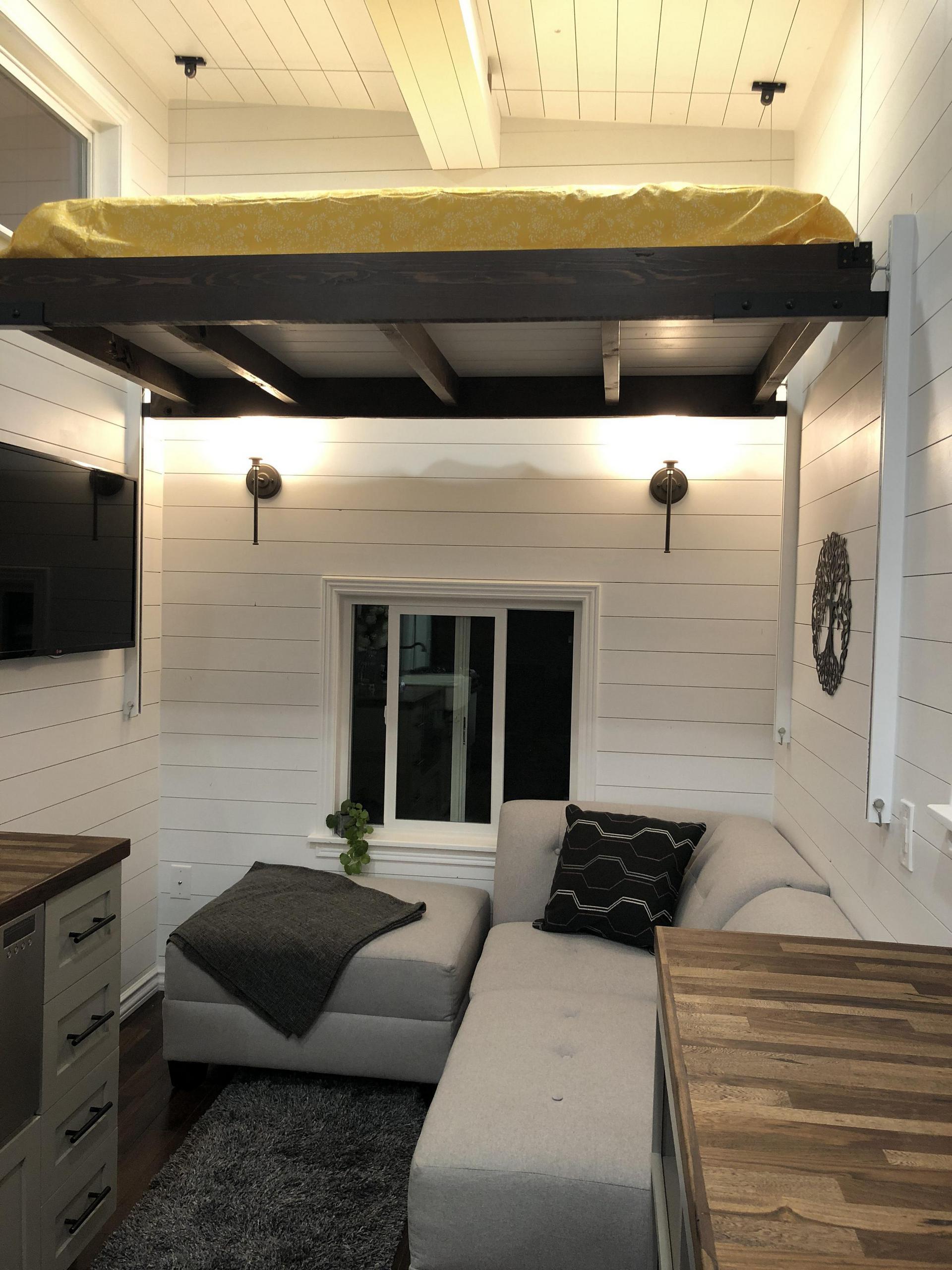 tiny house living room