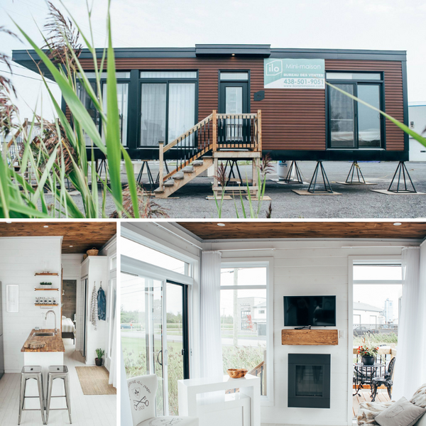 Meet Billy: The 408 sq.ft prefab tiny house made for small families