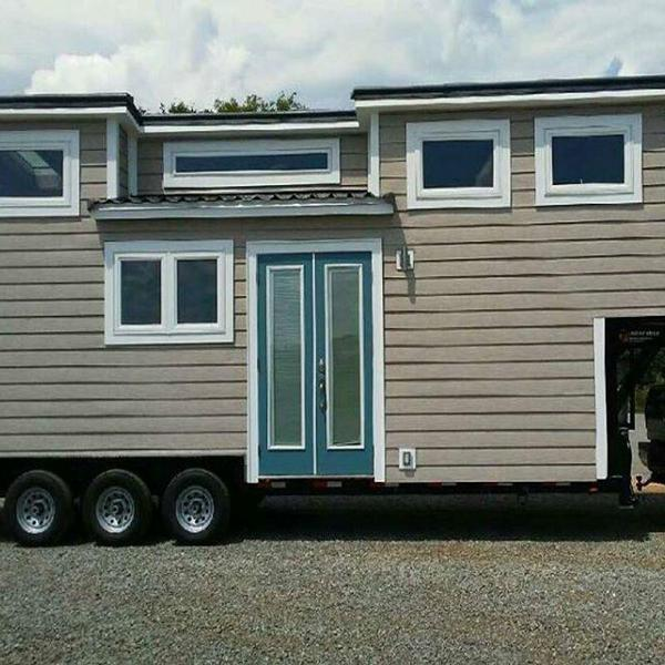26' Tiny House with Platform Bedroom