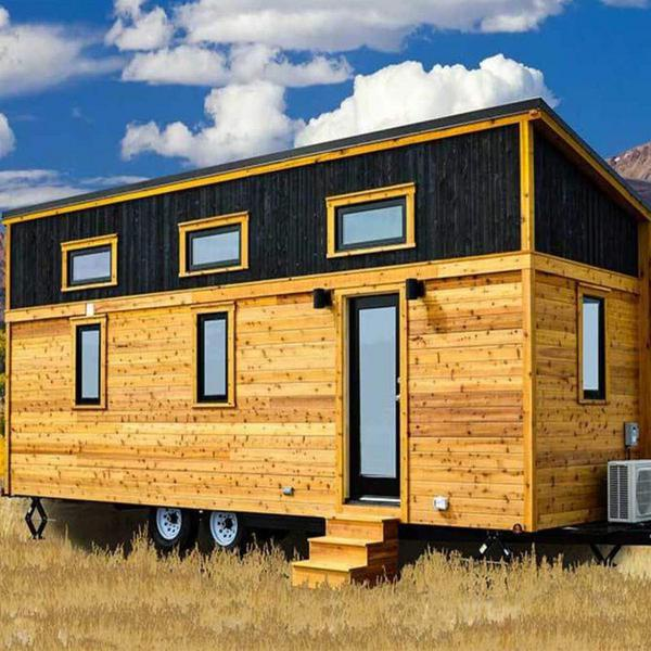 26' Tumbleweed Tiny House with Shed-Style Roof